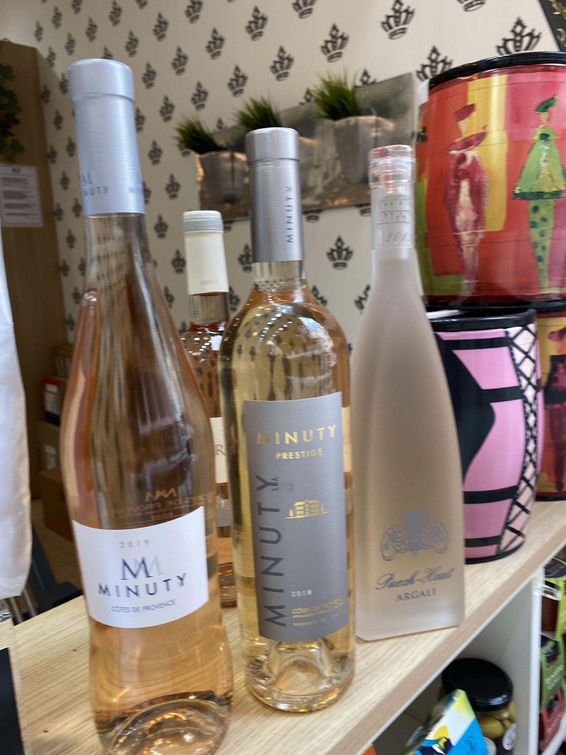 Sélection vins Épicerie Au Palais Grillet