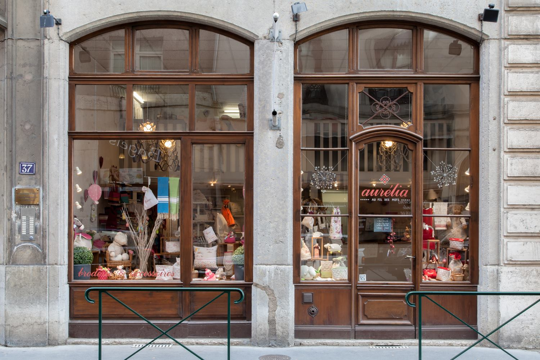 Vitrines Boutique Aurélia Lyon