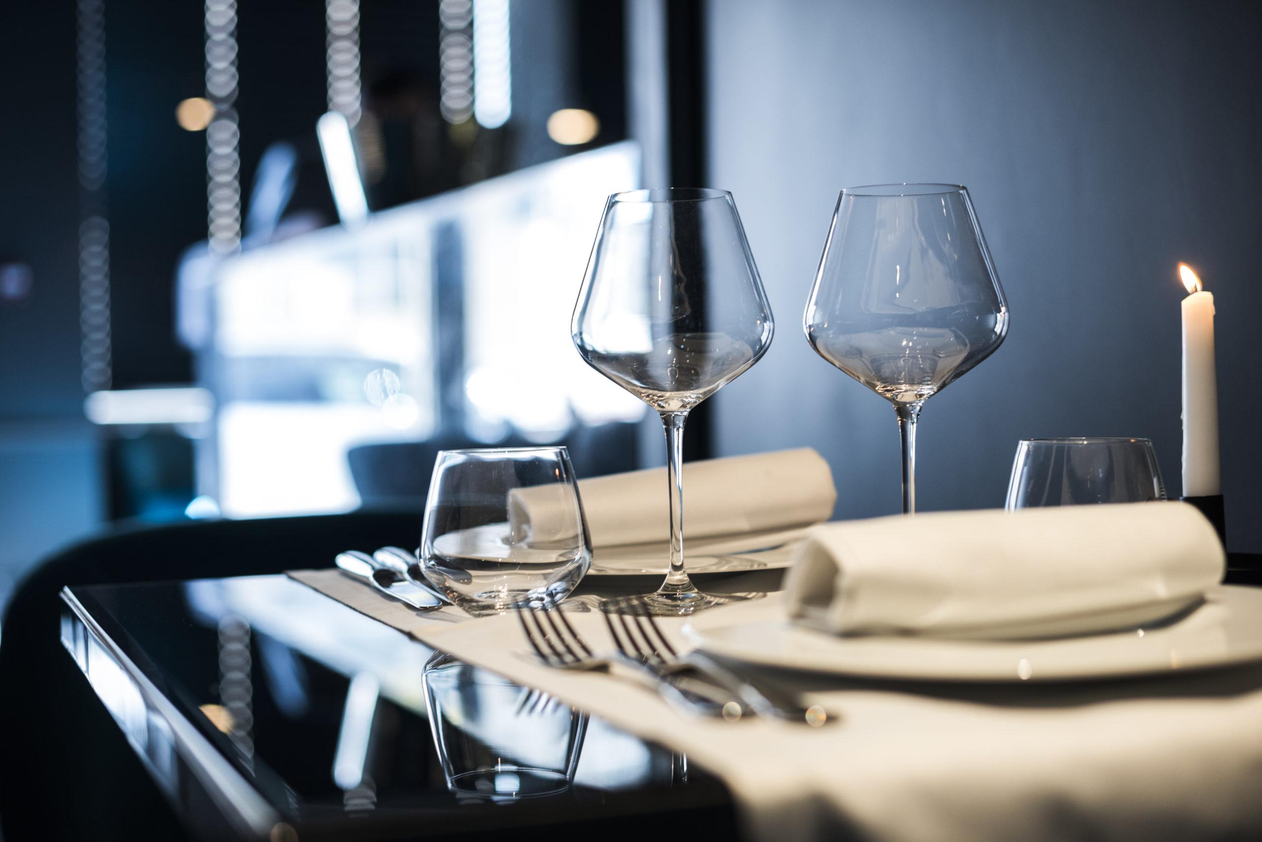 hôtel Boscolo Lyon 2 table restaurant