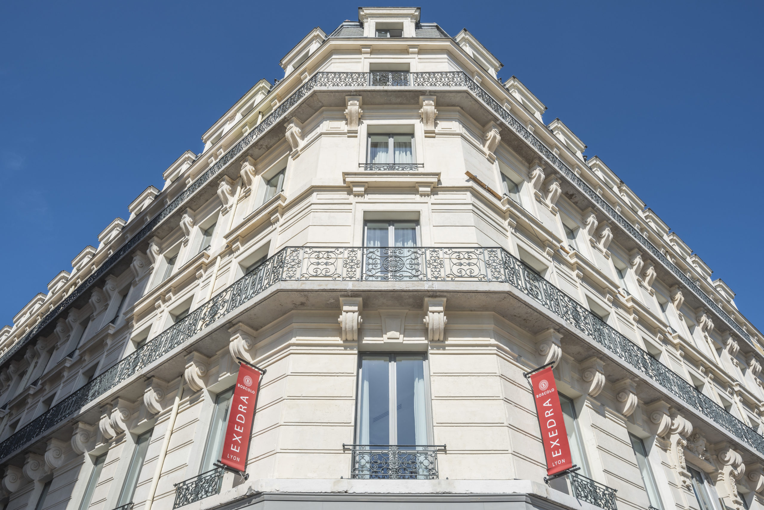 hôtel Boscolo Lyon 2 façade