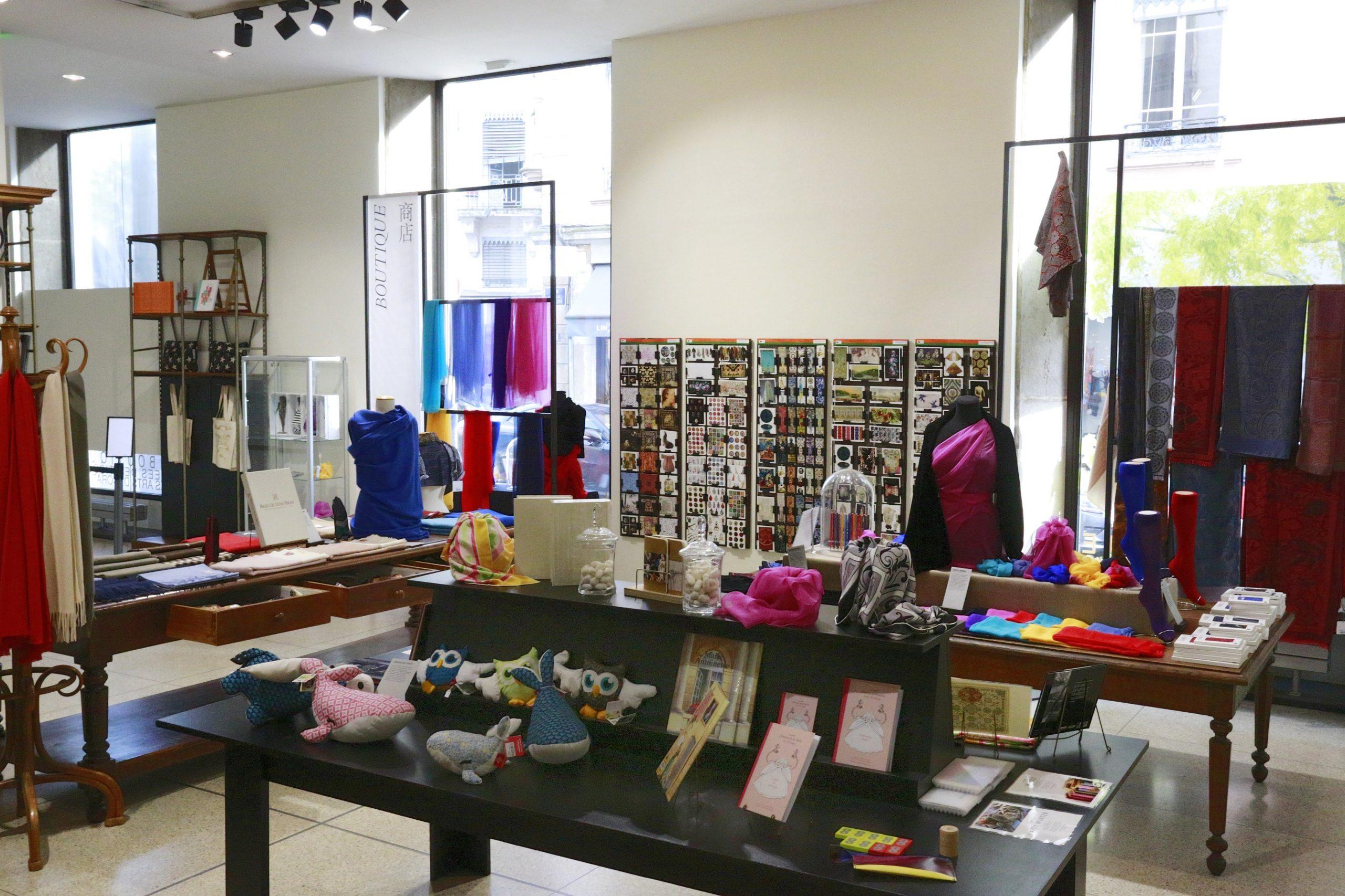Boutique Musée des Tissus