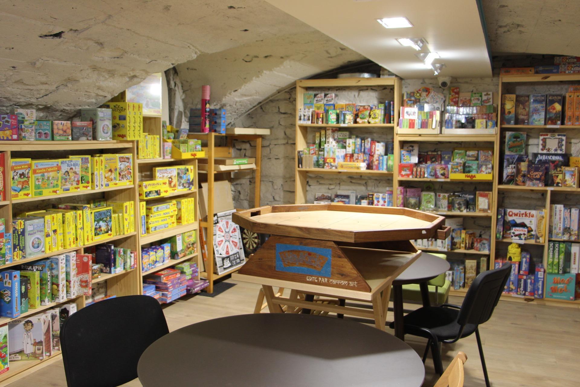 jeux de société boutique Poisson d'avril Lyon 2