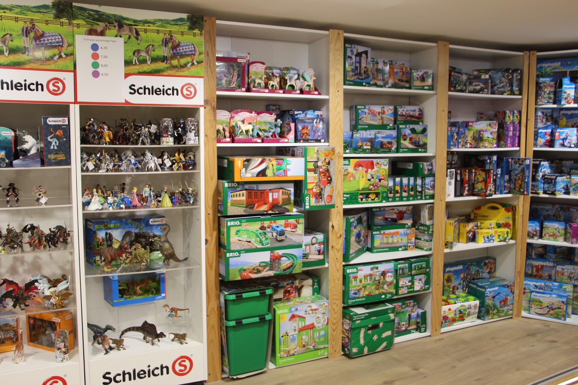 figurines et legos chez Poisson d'avril Lyon 2