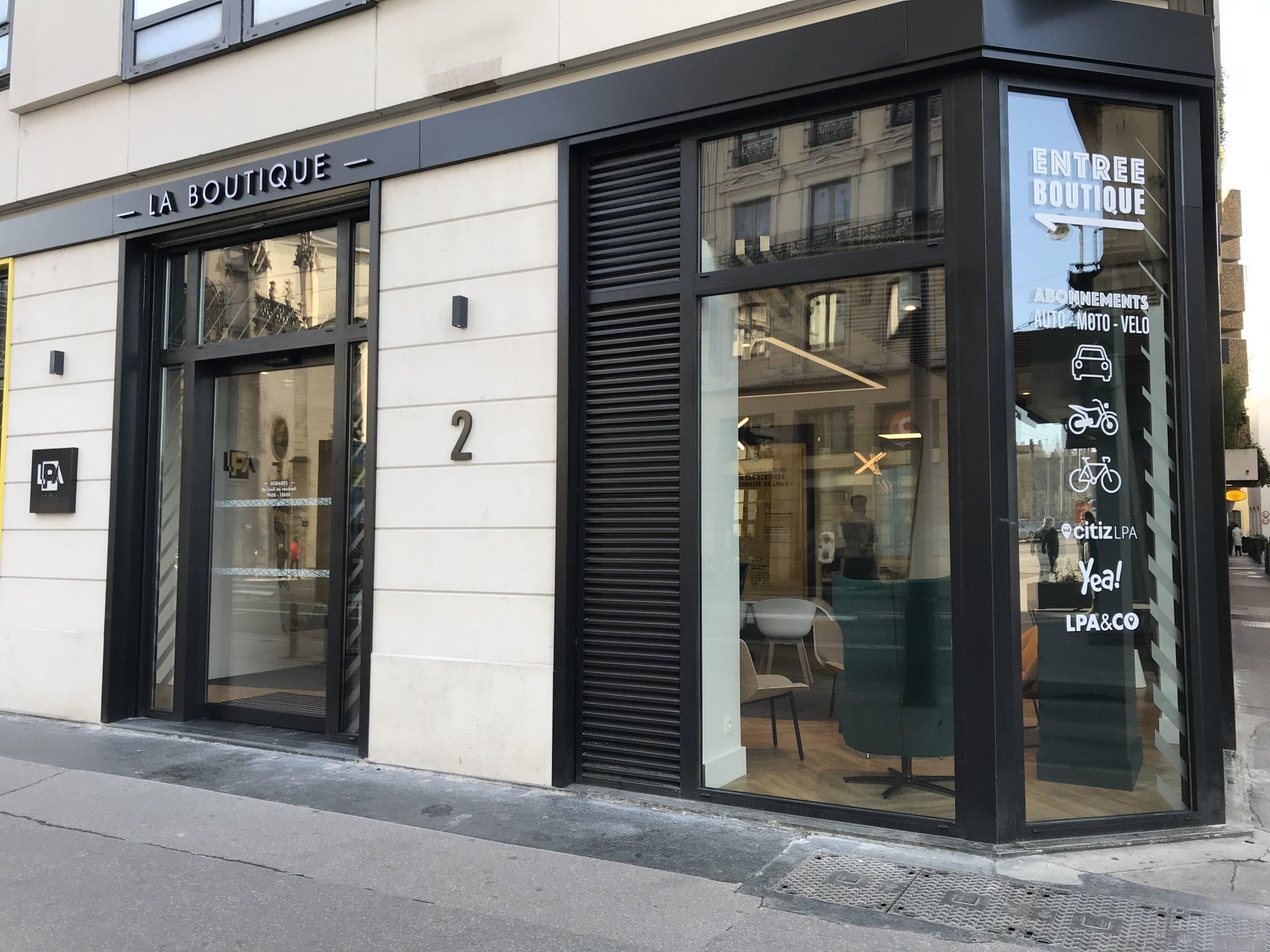 Vitrine Boutique LPA