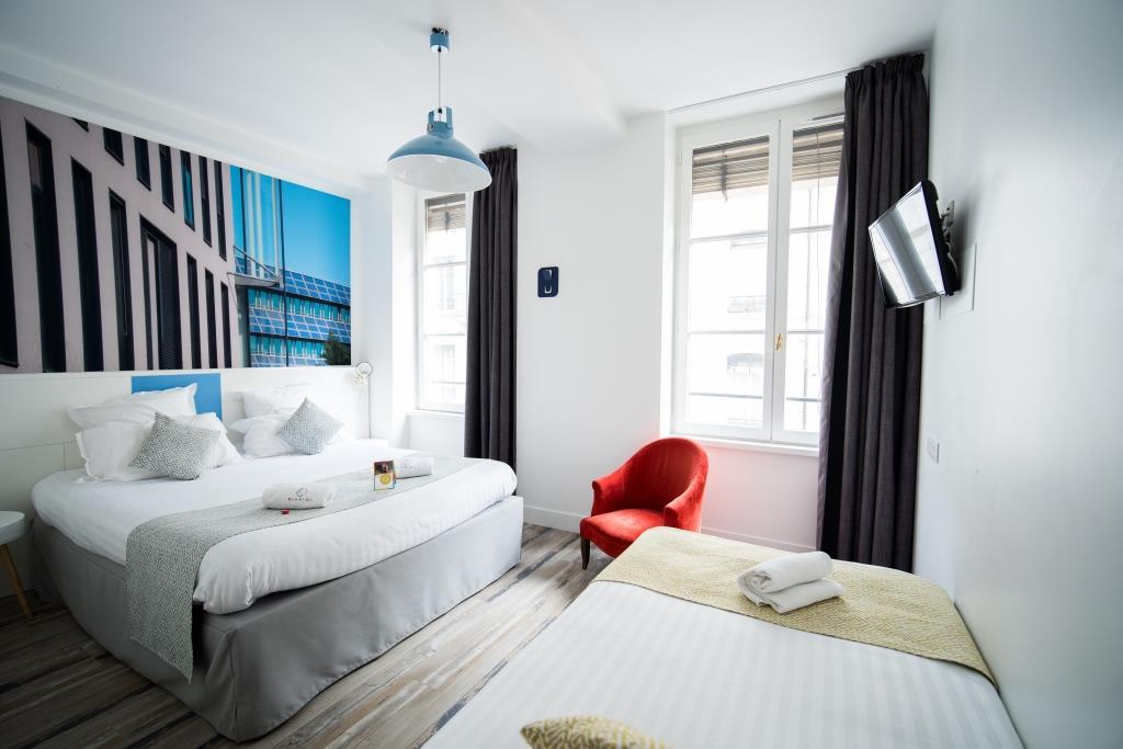 Chambre Hôtel du Simplon