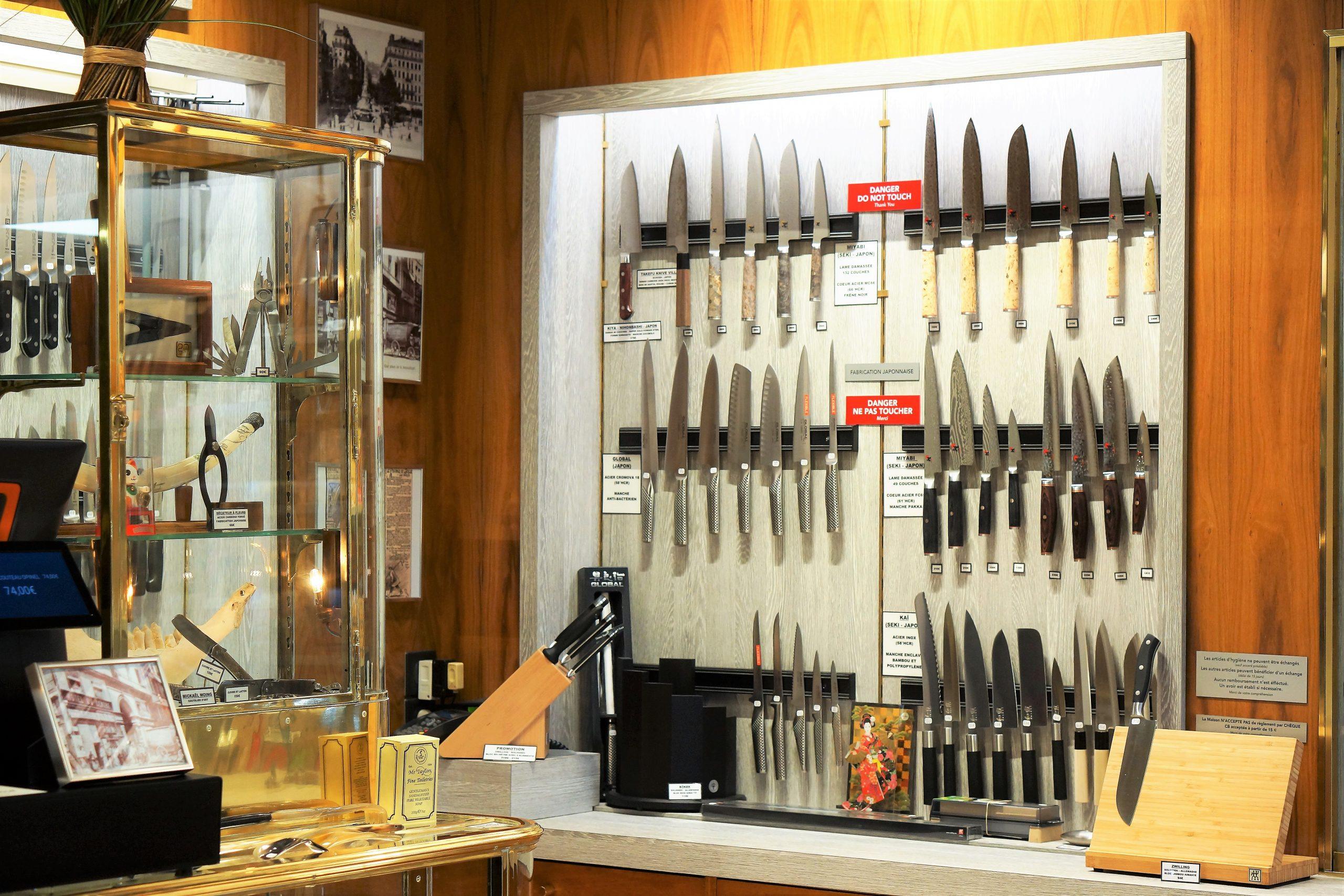 Couteaux de cuisine Coutellerie Brossard