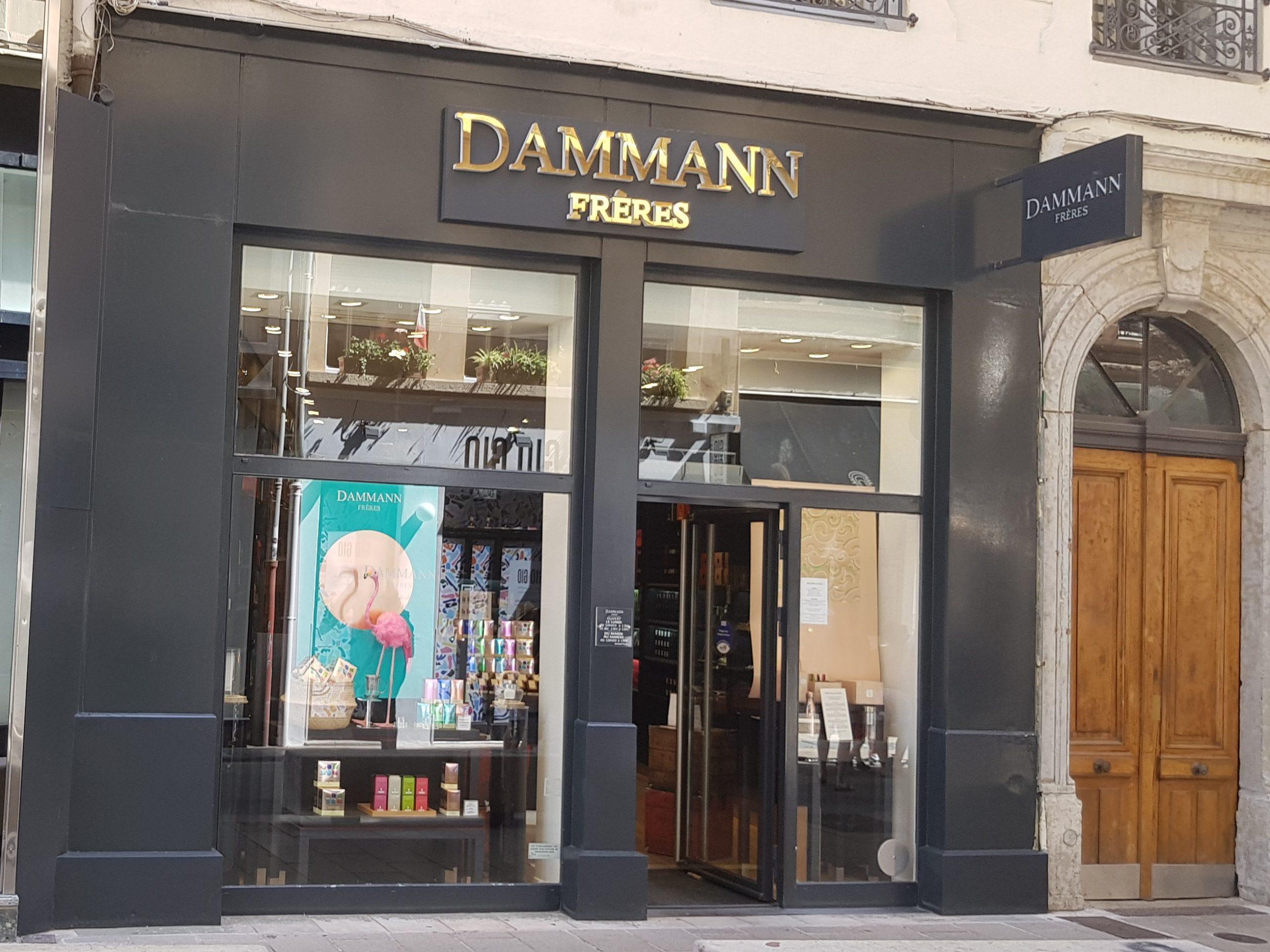 Vitrine Dammann Frères Lyon