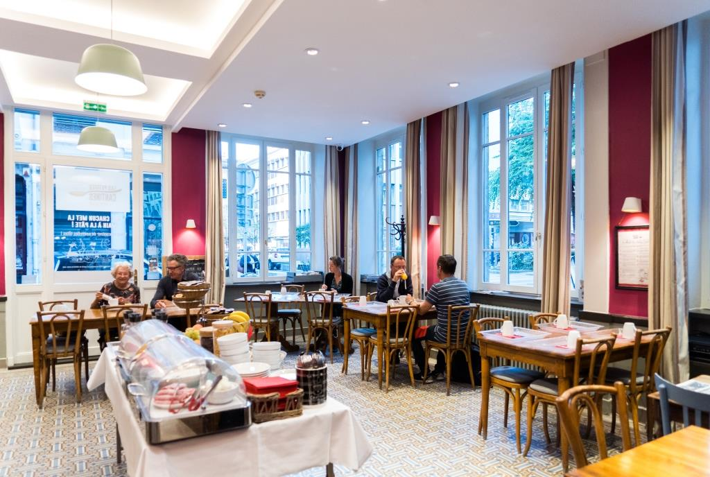Déjeuner Hôtel du Simplon