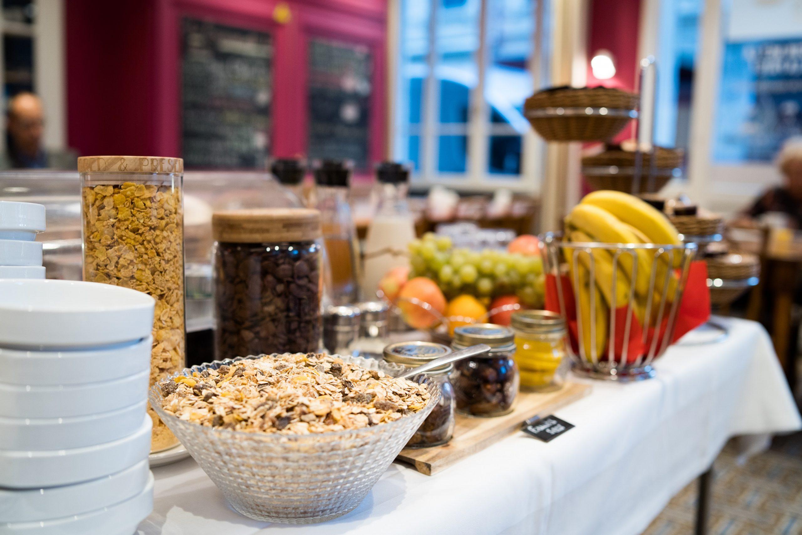 Petit-déjeuner Hôtel du Simplon