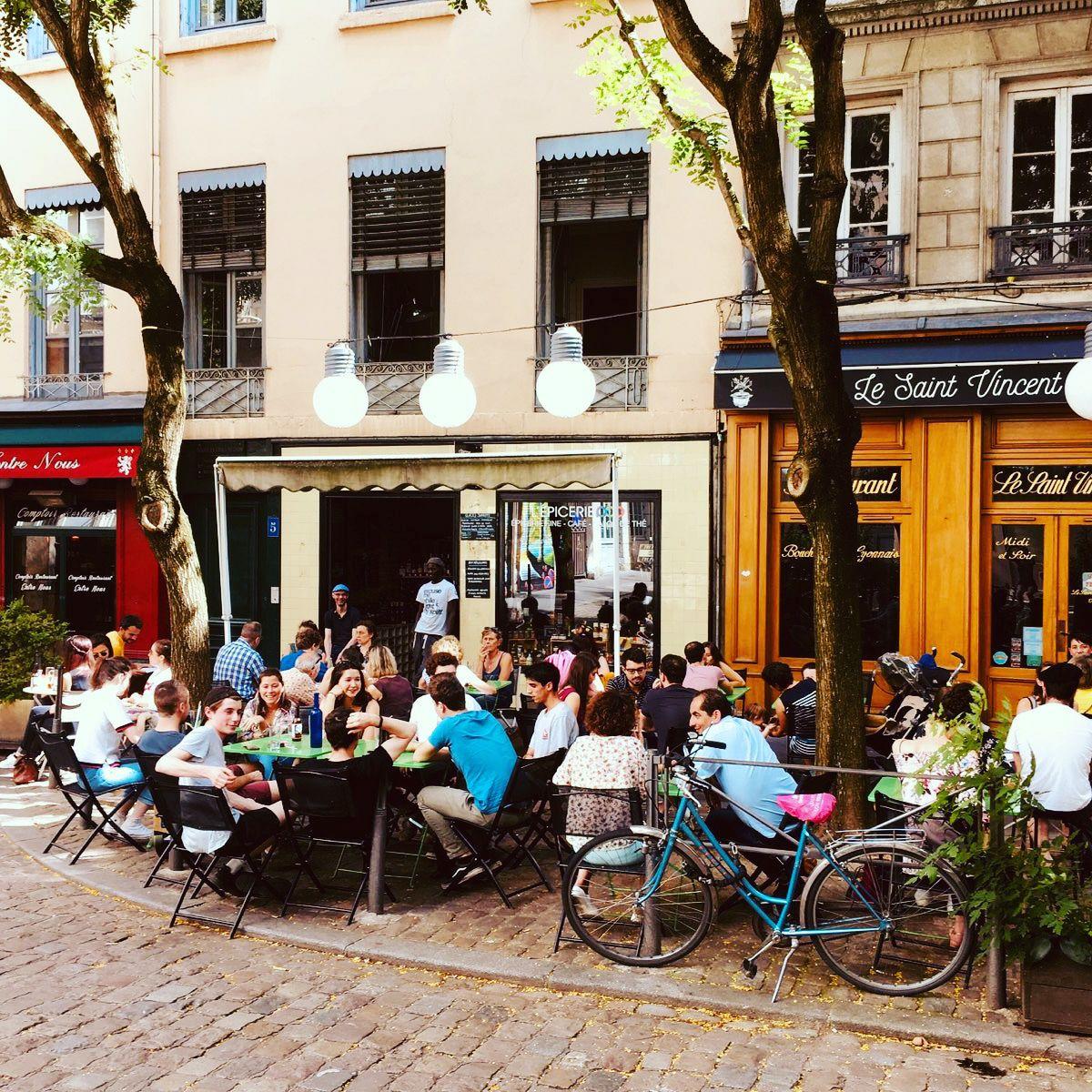 Terrasse Epicerie Pop Lyon