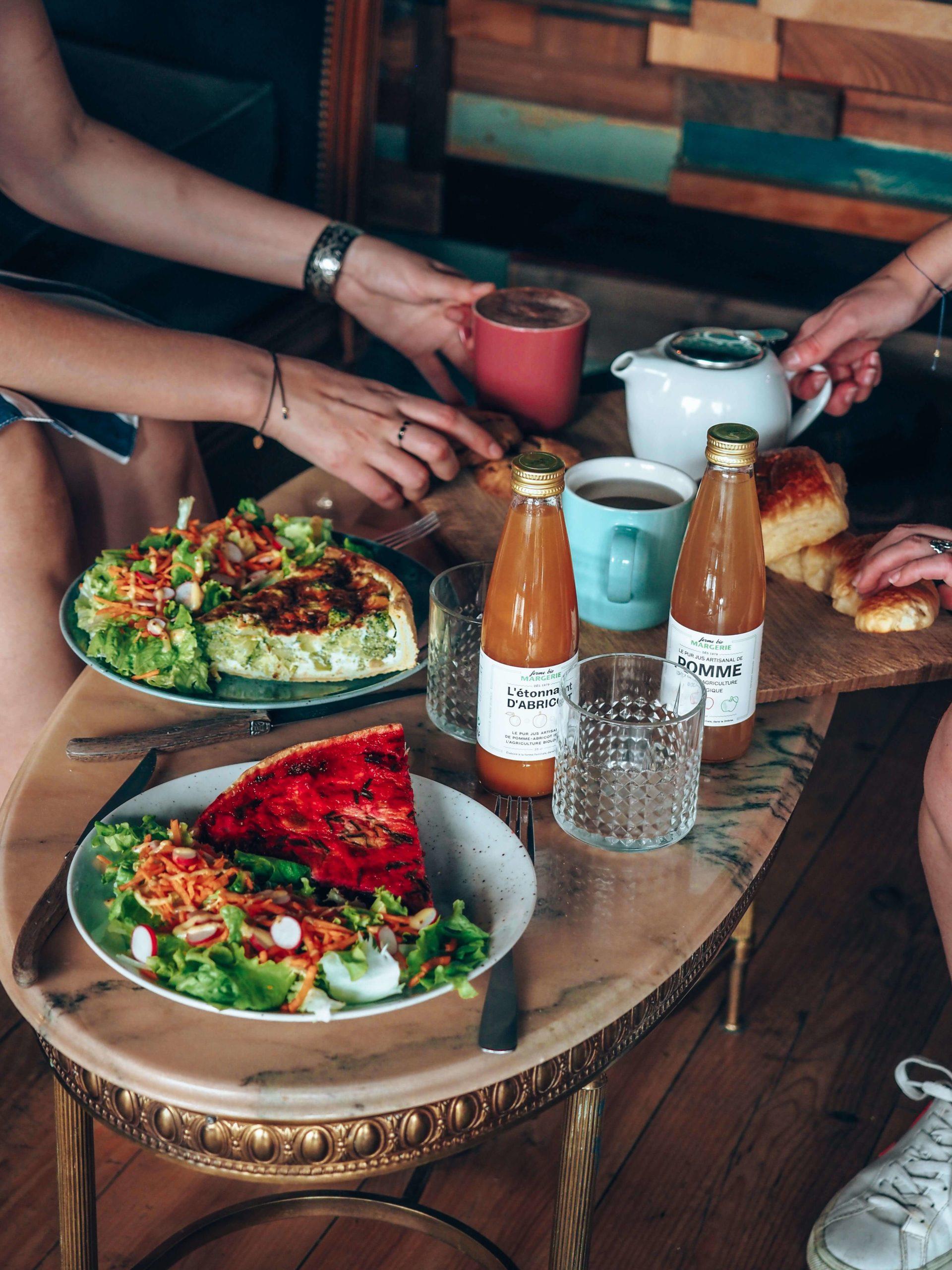 Plats Equilibres café Lyon