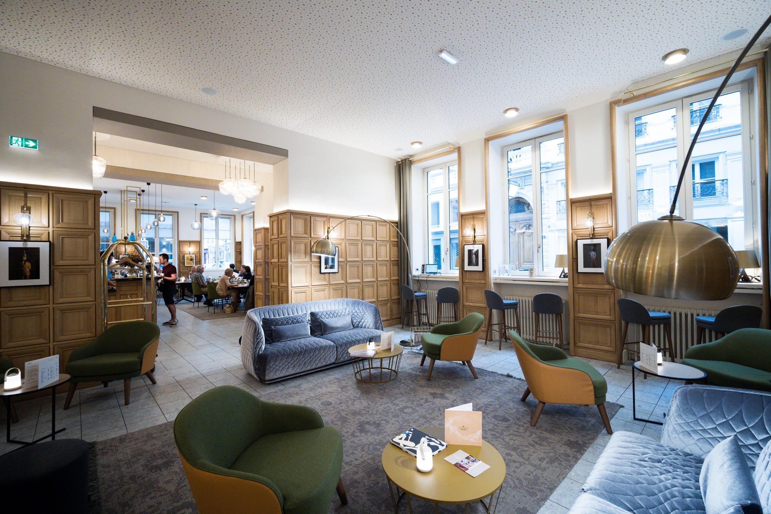 Salon Globe & Cecil Hôtel