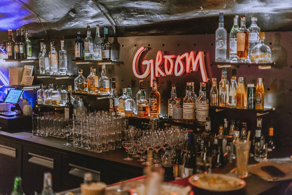 intérieur bar Groom Lyon 1