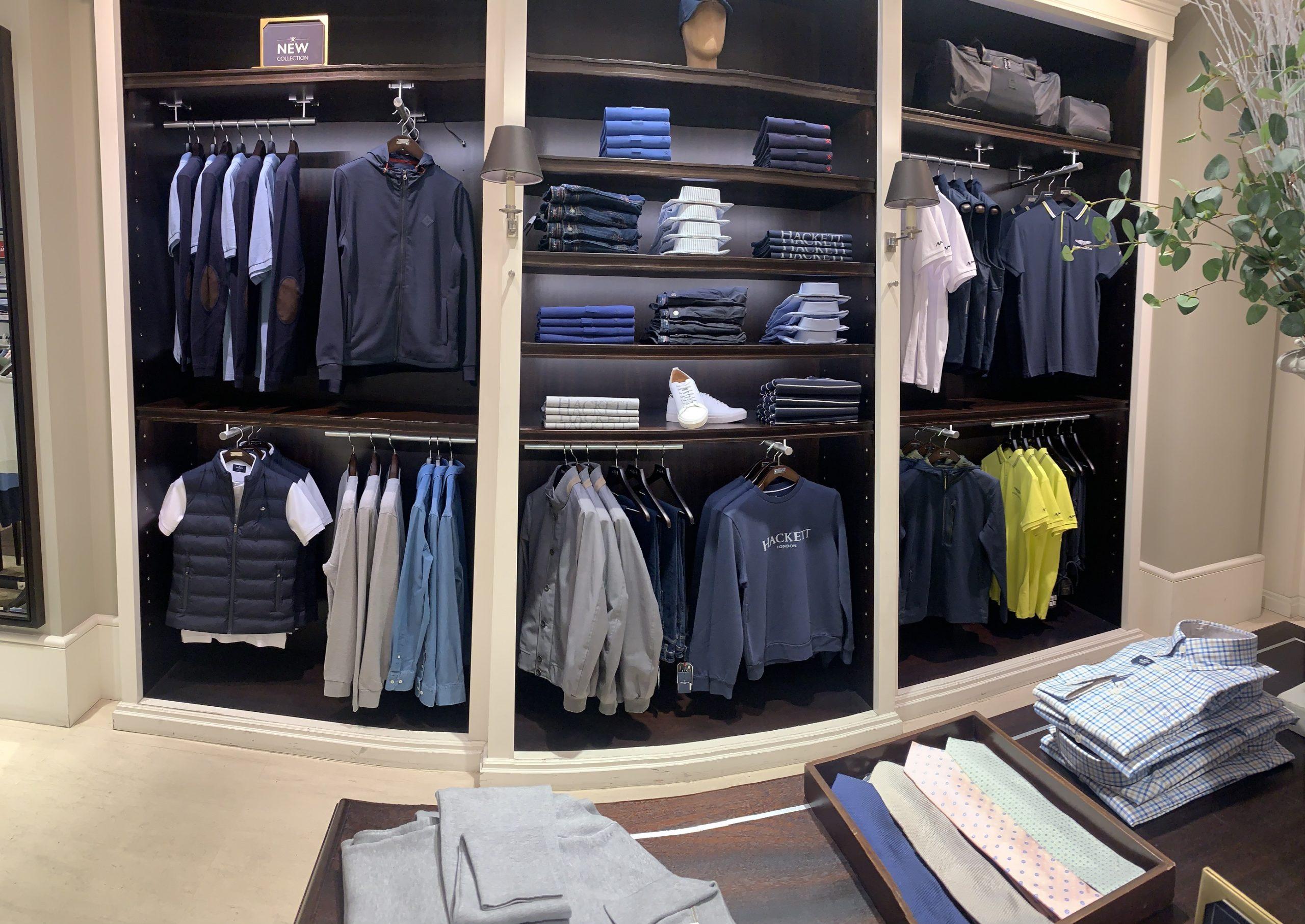 boutique mode homme Hackett Lyon 2