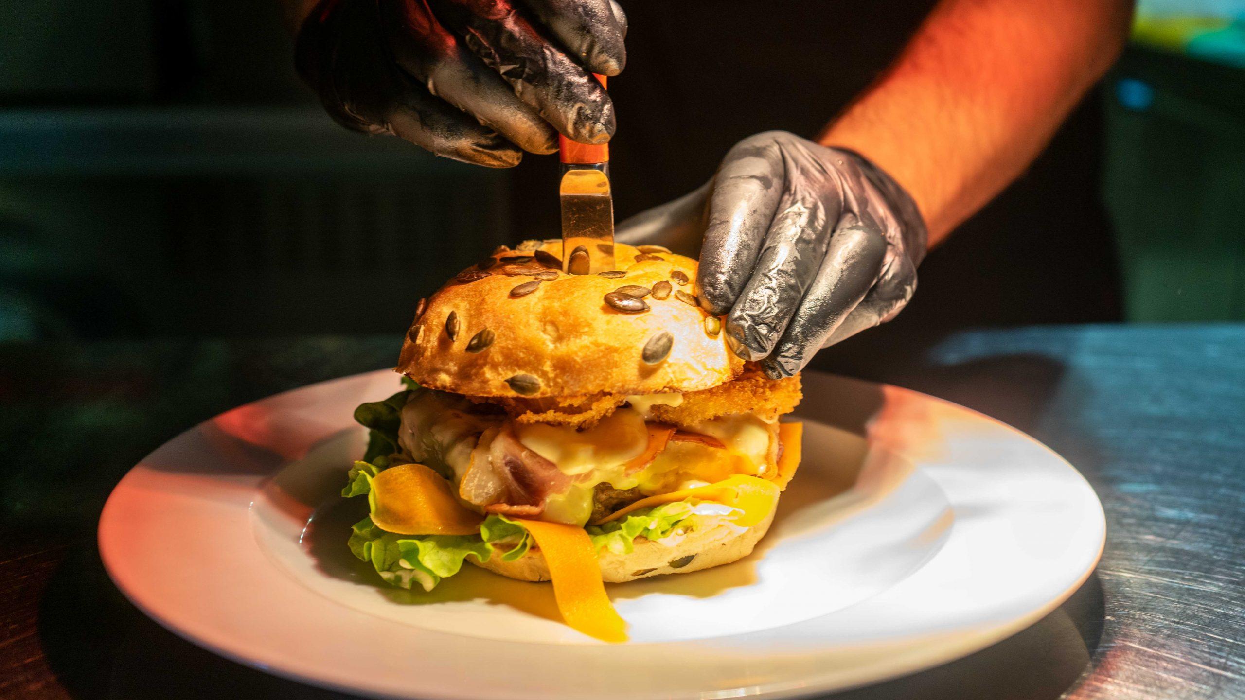 Burger Hard Rock Café
