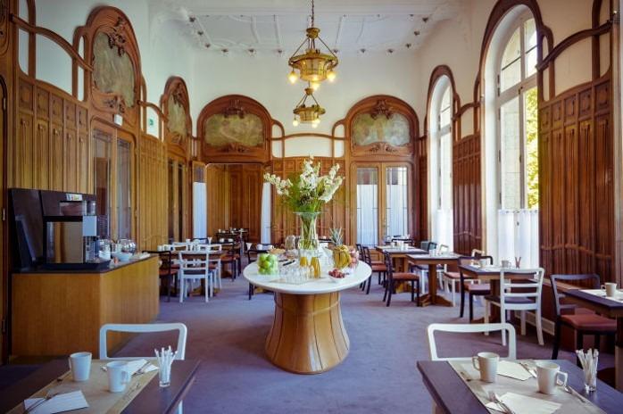 Petit-déjeuner Hotel Mercure Château Perrache