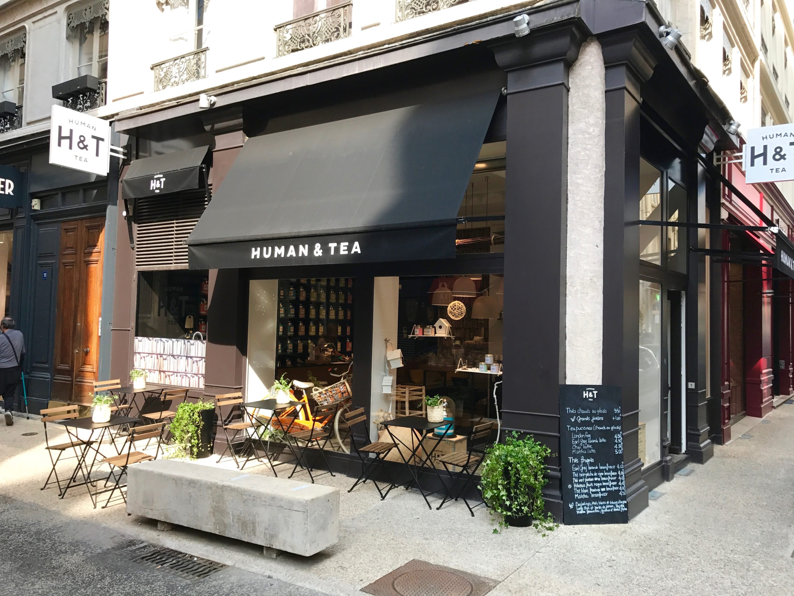 Vitrines Human & Tea Cordeliers Lyon