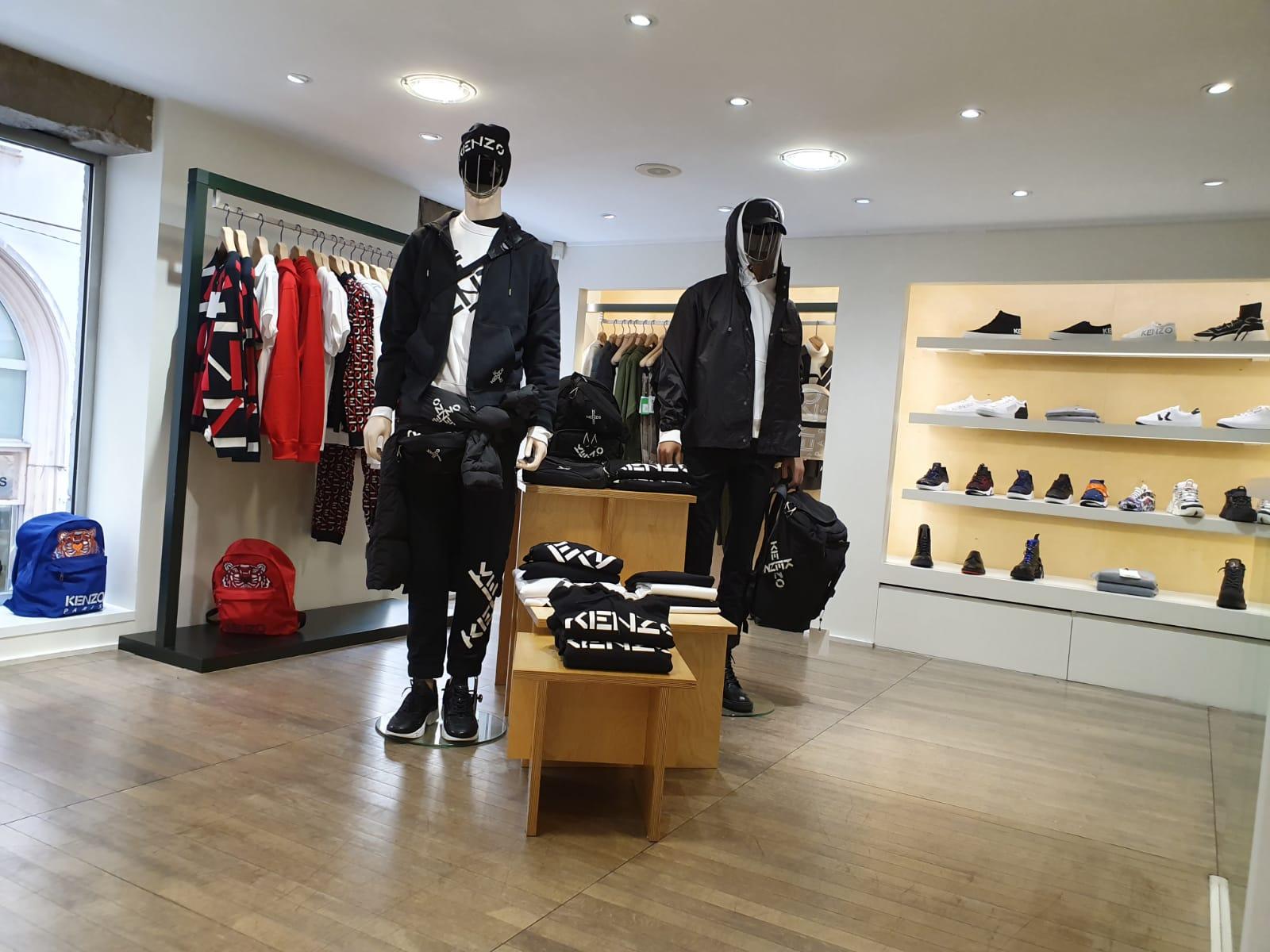 etage boutique Kenzo Lyon 2