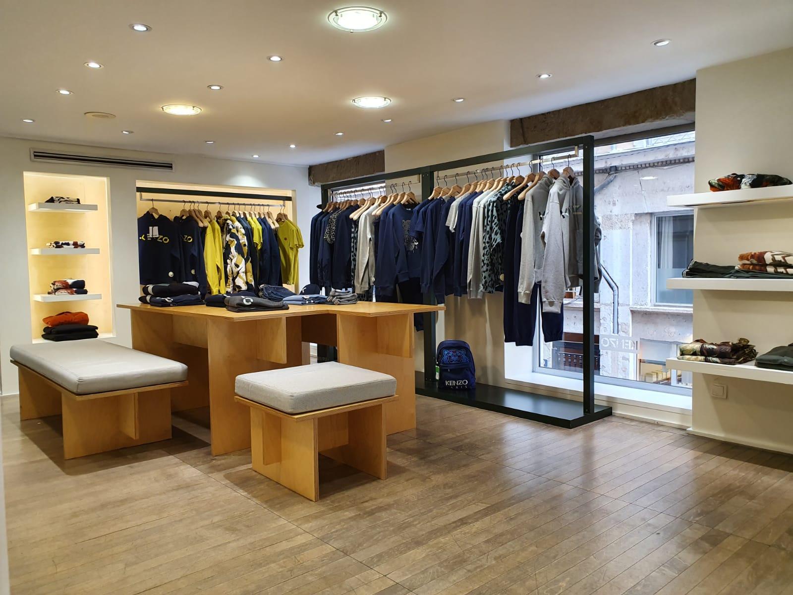 etage boutique Kenzo homme Lyon 2