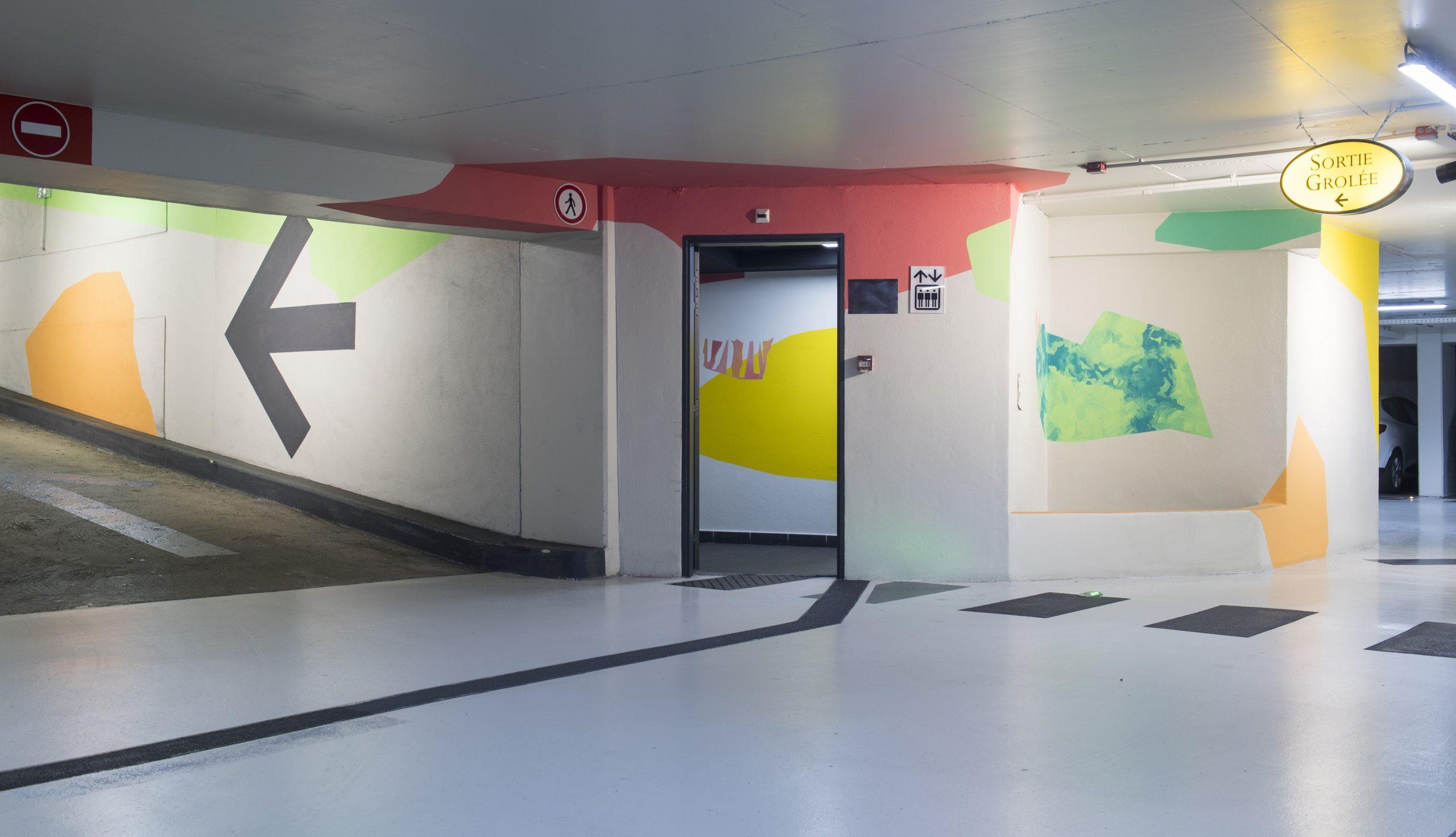 Parking LPA Grolée