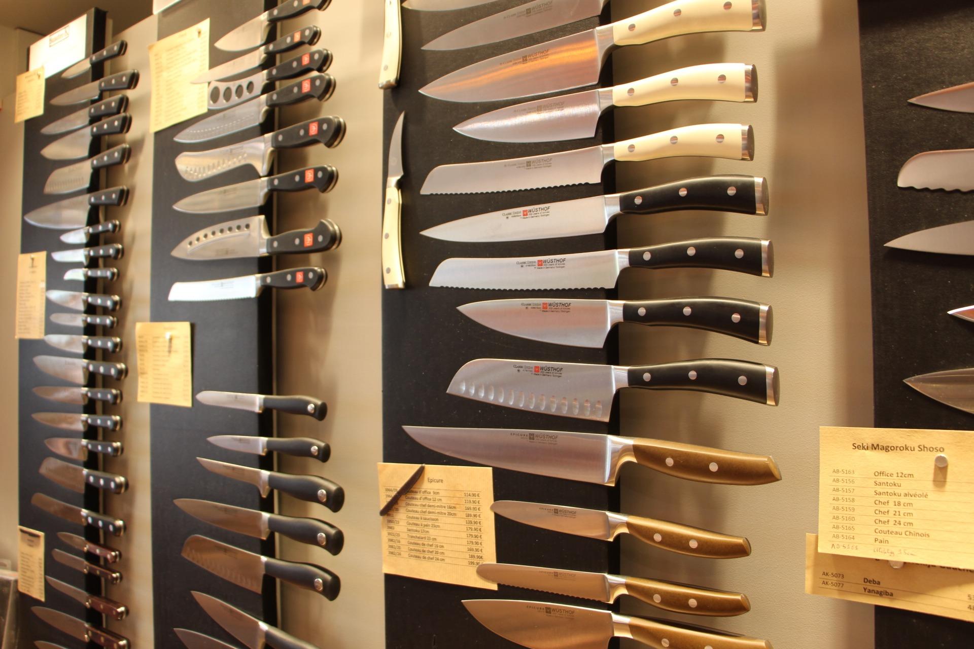Couteaux de cuisine Boutique La coutellerie de Lyon 2