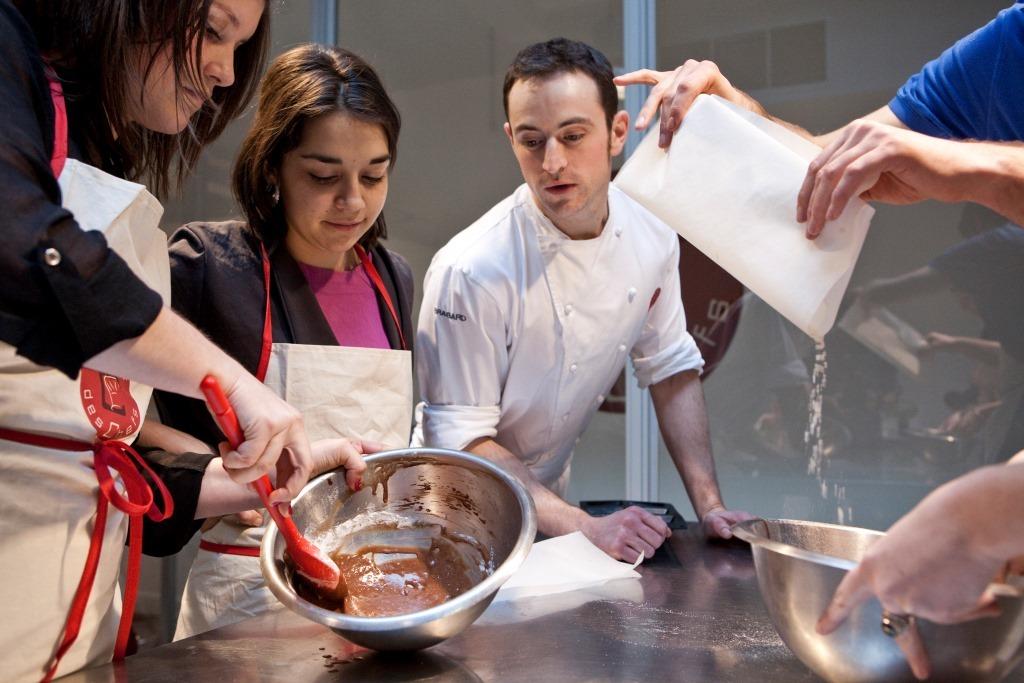 cours cuisine à L'atelier des chefs lyon