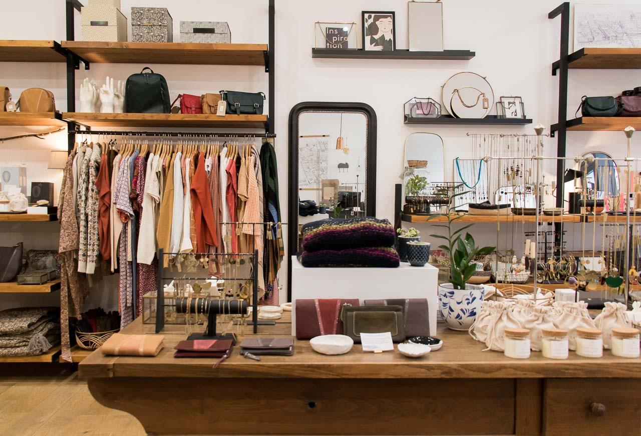 intérieur boutique Mathuvu Lyon Déco
