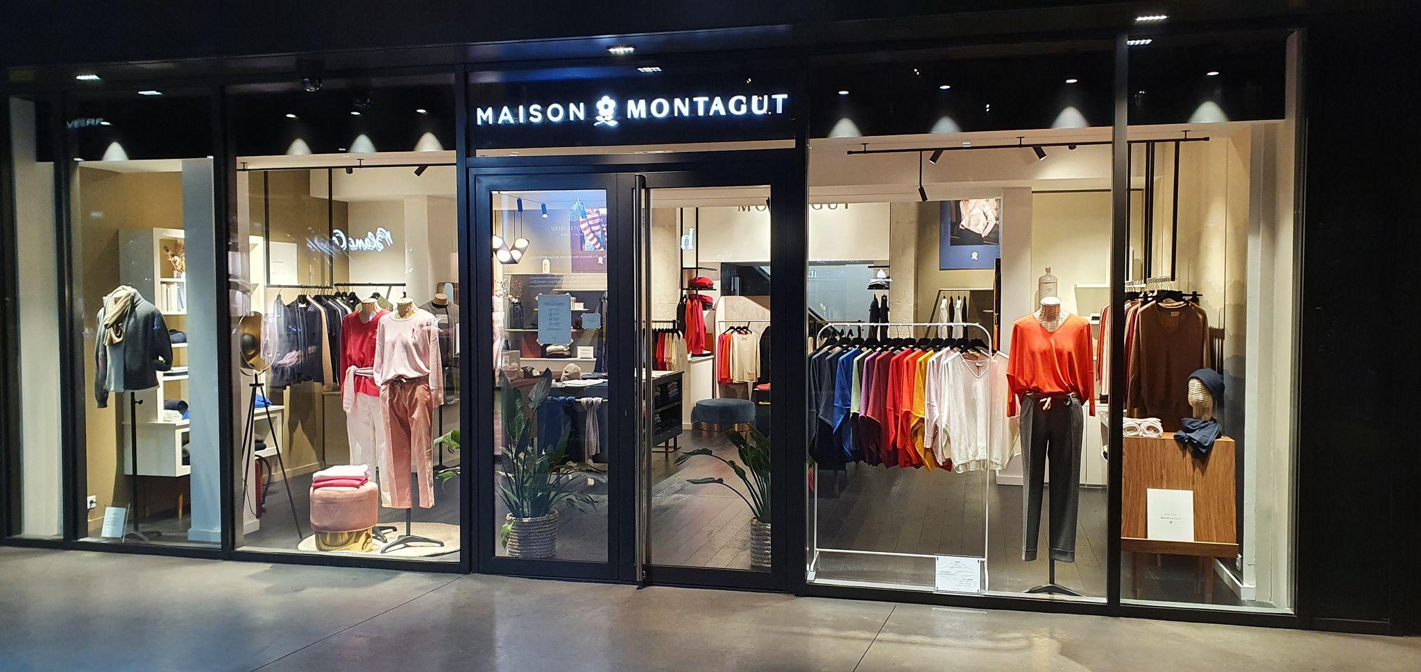 vitrine boutique Maison Montagut Lyon 2