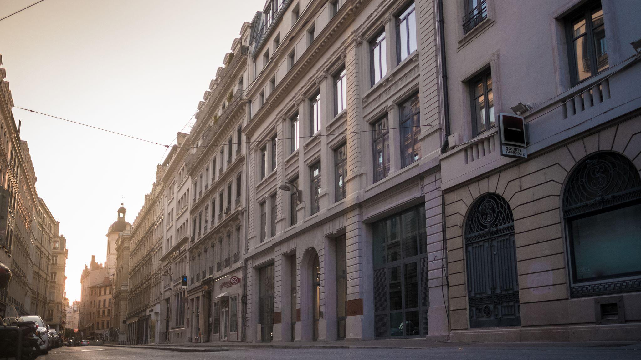 Maison No hôtel Lyon 1er rooftop