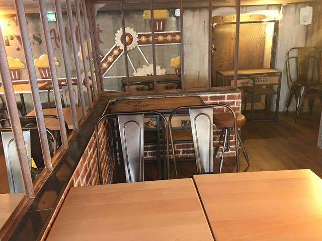 Mary's Coffee Shop vue d'en haut Lyon 1er