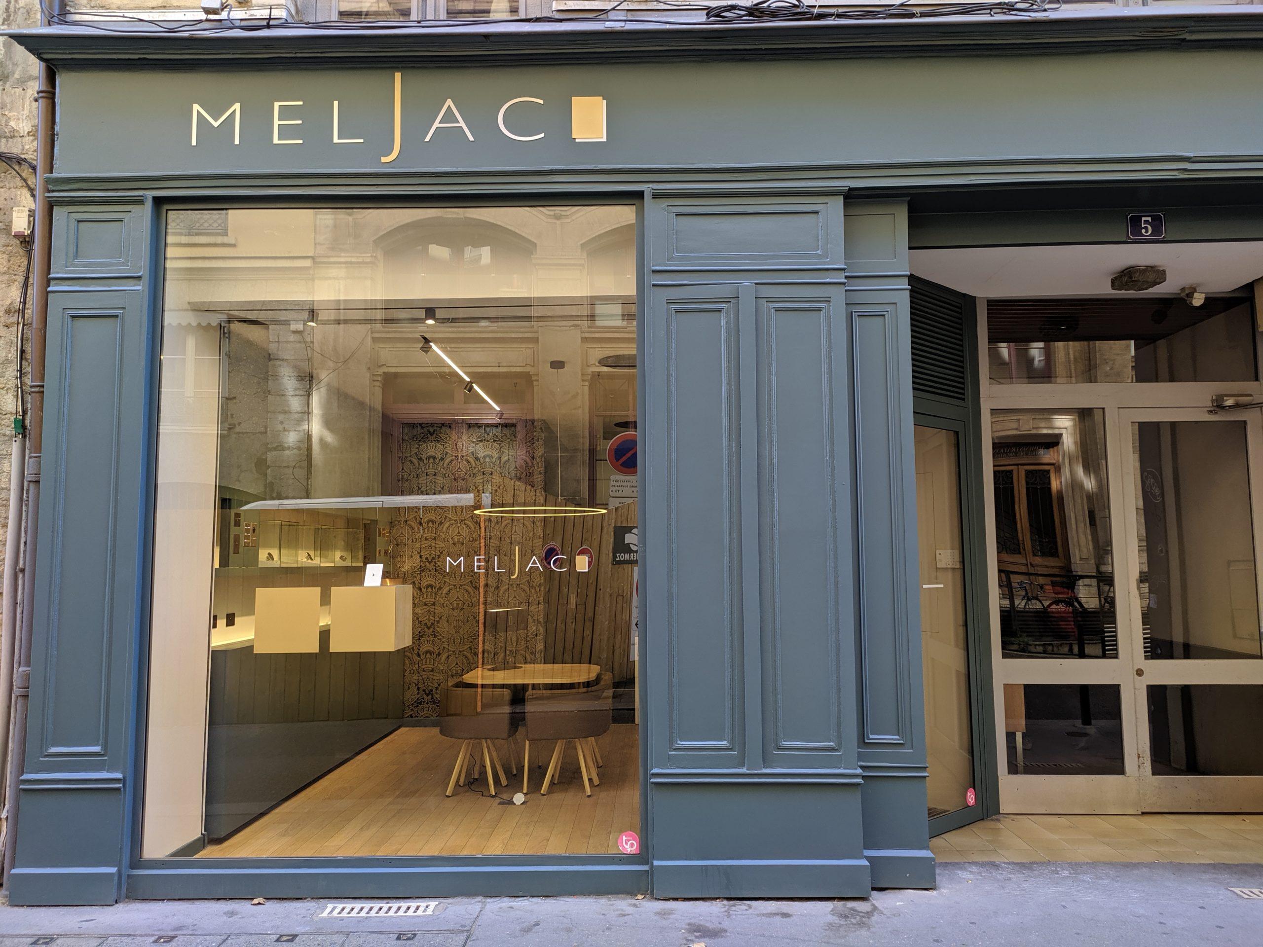 vitrine boutique Meljac Lyon