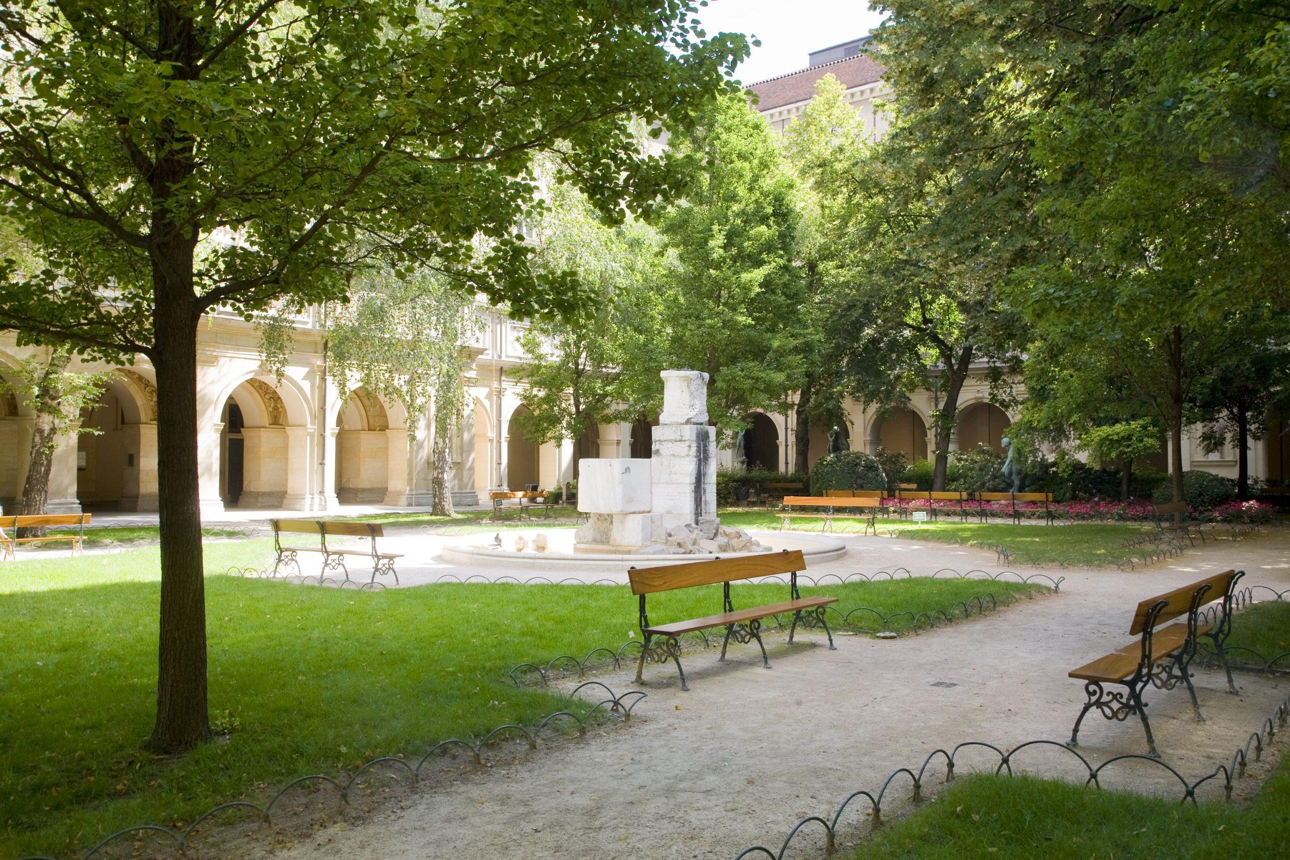 Jardin Musée des Beaux-Arts Lyon