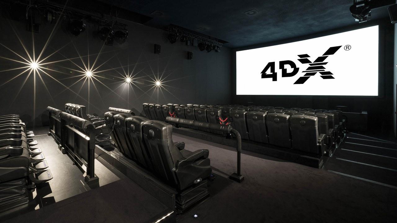 Salle 4DX Cinéma Pathé