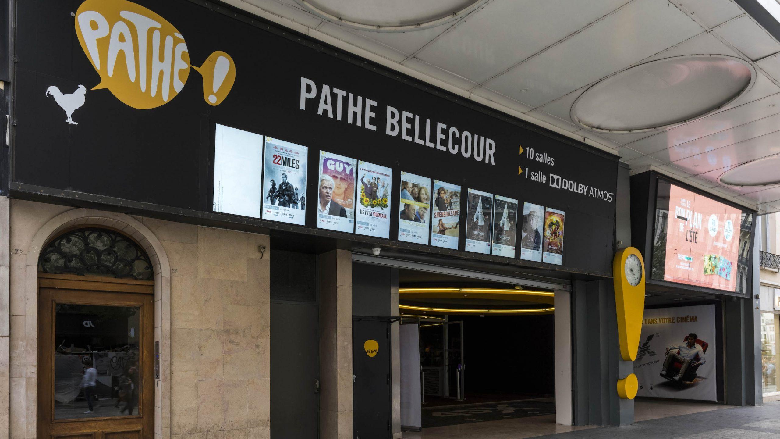 Entrée Cinéma Pathé