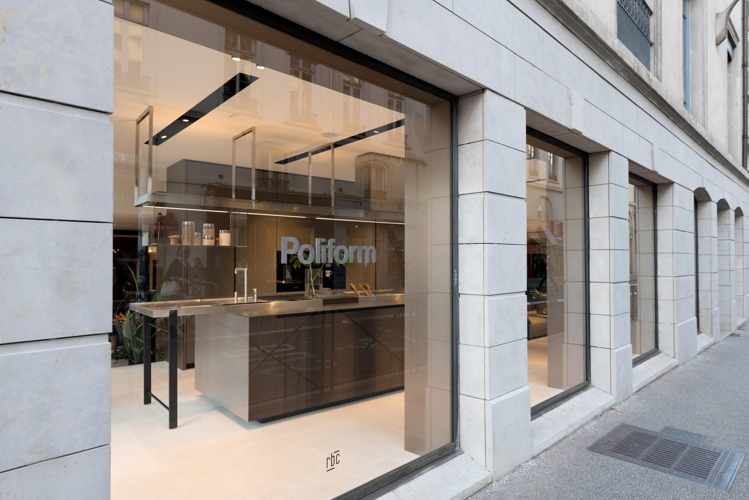 Showroom Poliform Lyon Centre-ville