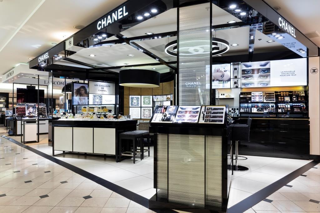 Printemps Lyon espace Chanel beauté