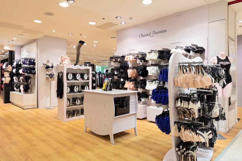 Printemps Lyon univers lingerie Chantal Thomas
