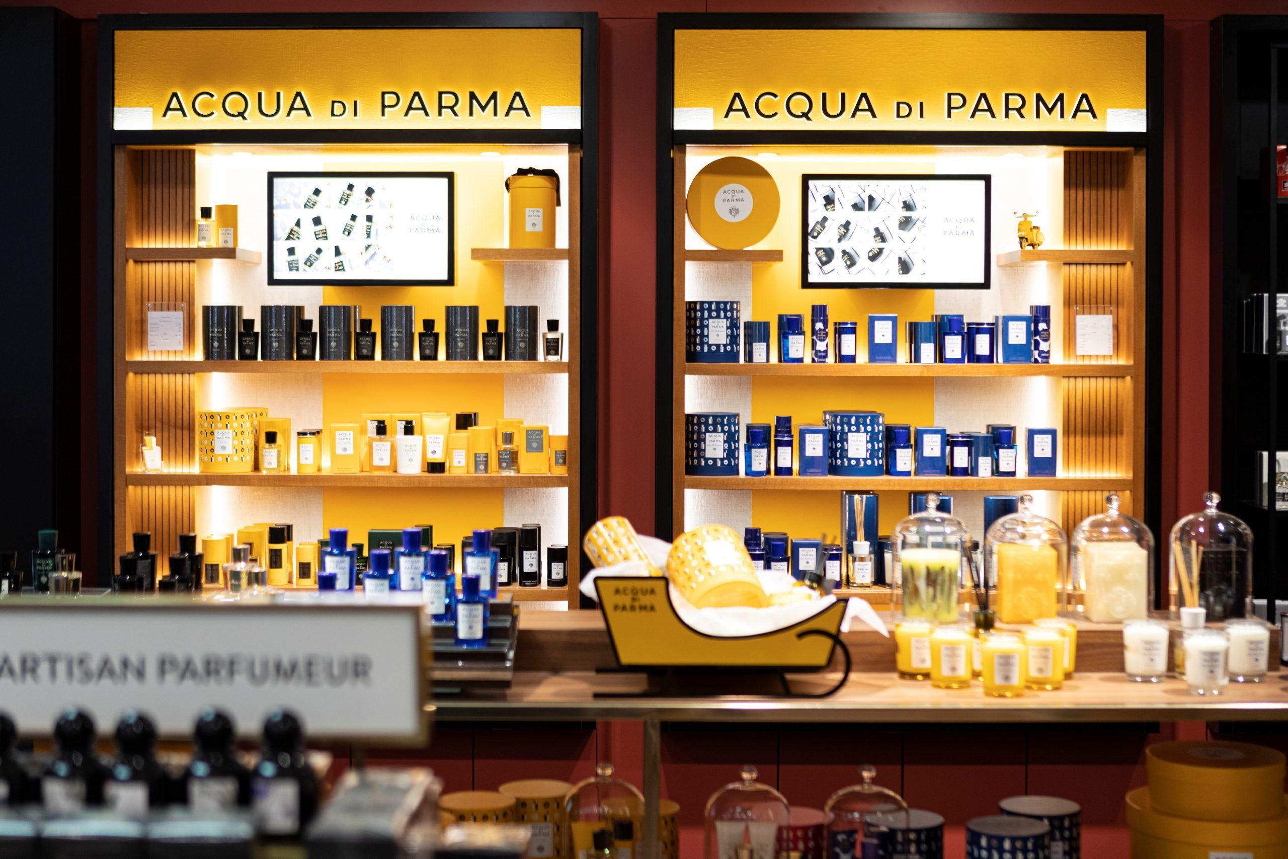 Printemps Lyon Aqua Di Parma beauté