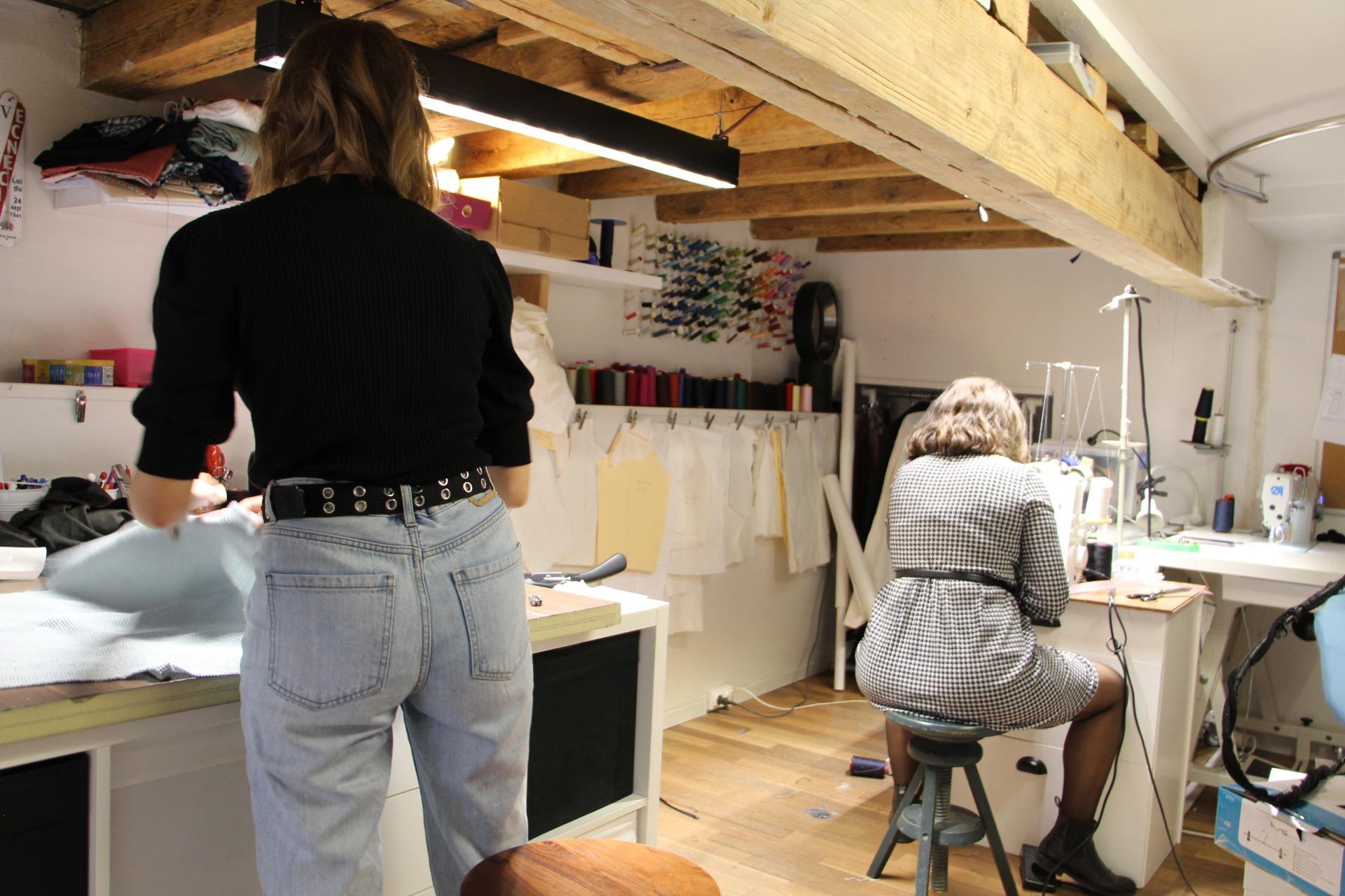 Atelier de création Sur Mon 31 boutique Lyon 2