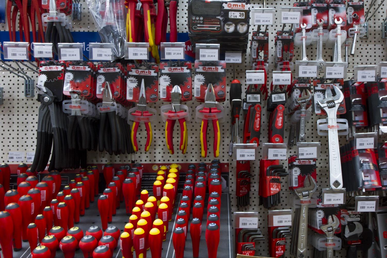 rayon outils boutique Terreaux Bricolage Lyon