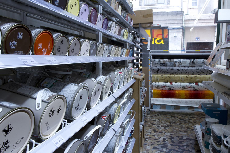 rayon peinture boutique Terreaux Bricolage Lyon