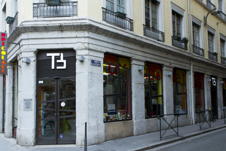 vitrine boutique Terreaux Bricolage Lyon