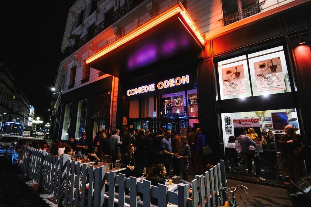 Terrasse Théâtre Comédie Odéon