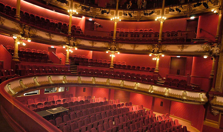 salle à l'italienne théâtre Célestins