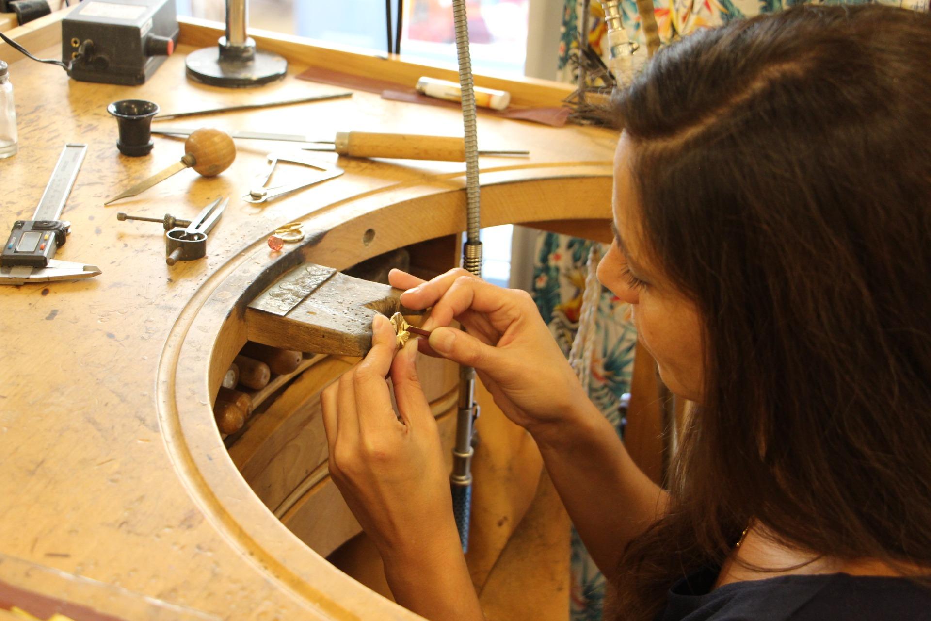 atelier création bijoux Tiara Milo Lyon 2