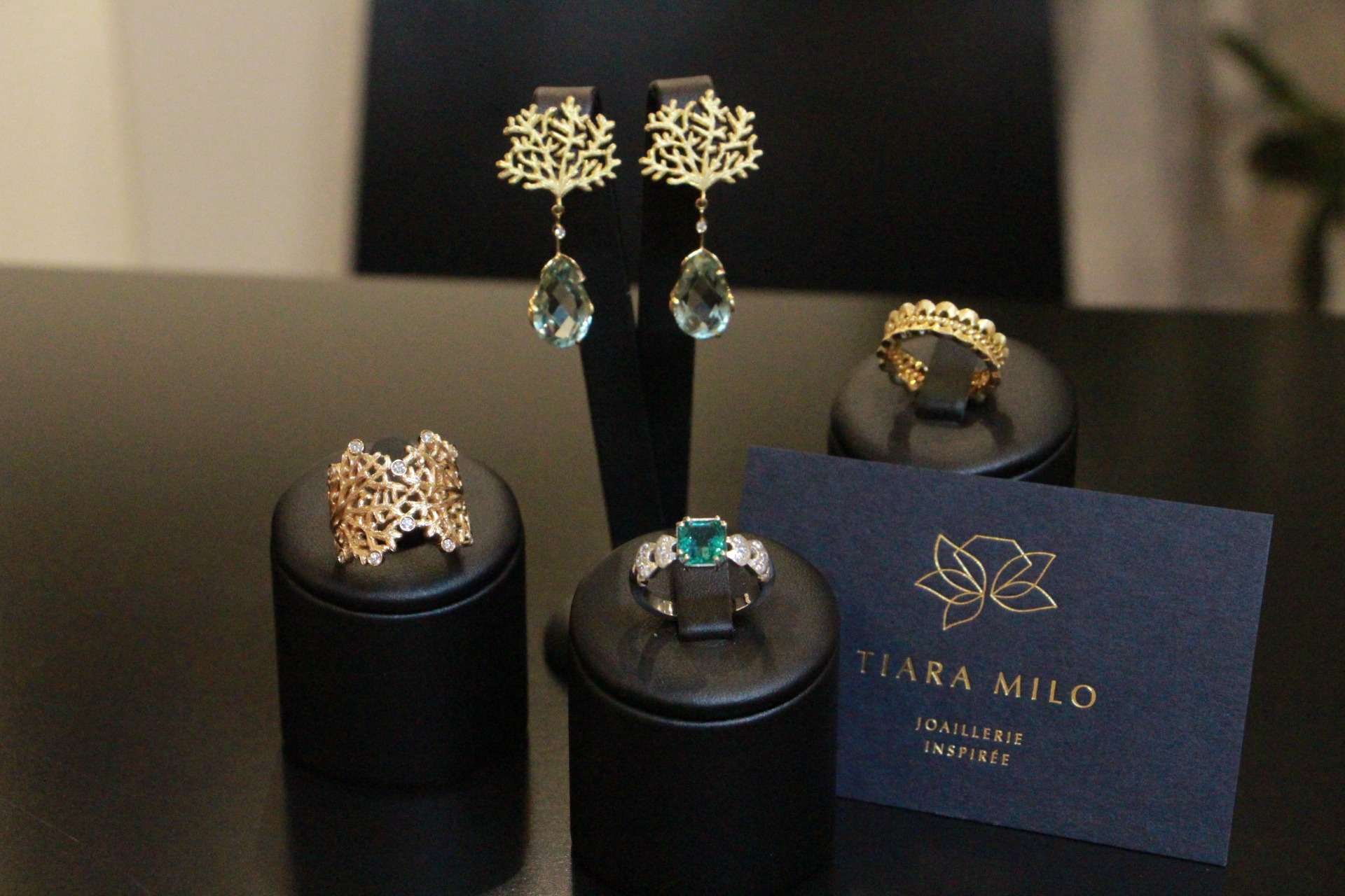 bijoux créés par les créatrices Tiara Milo Lyon 2