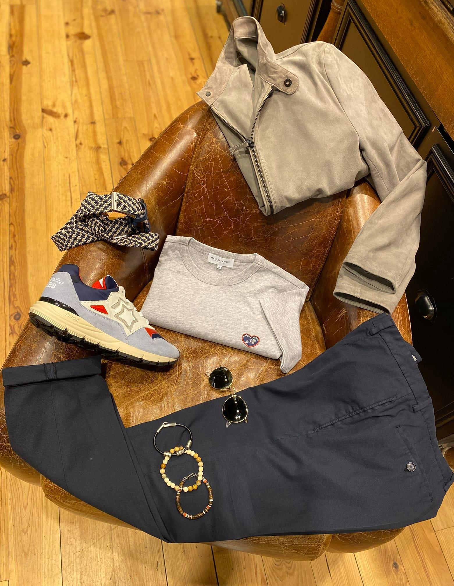 look homme boutique Tramps lyon 2