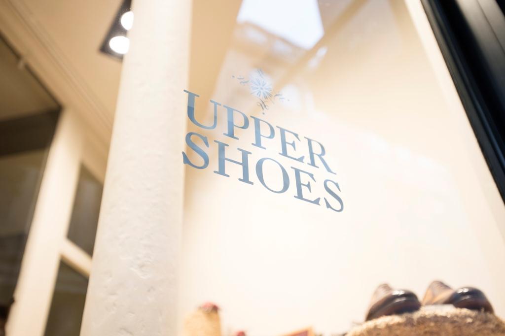 vitrine boutique Upper Shoes Jean de Tournes Lyon