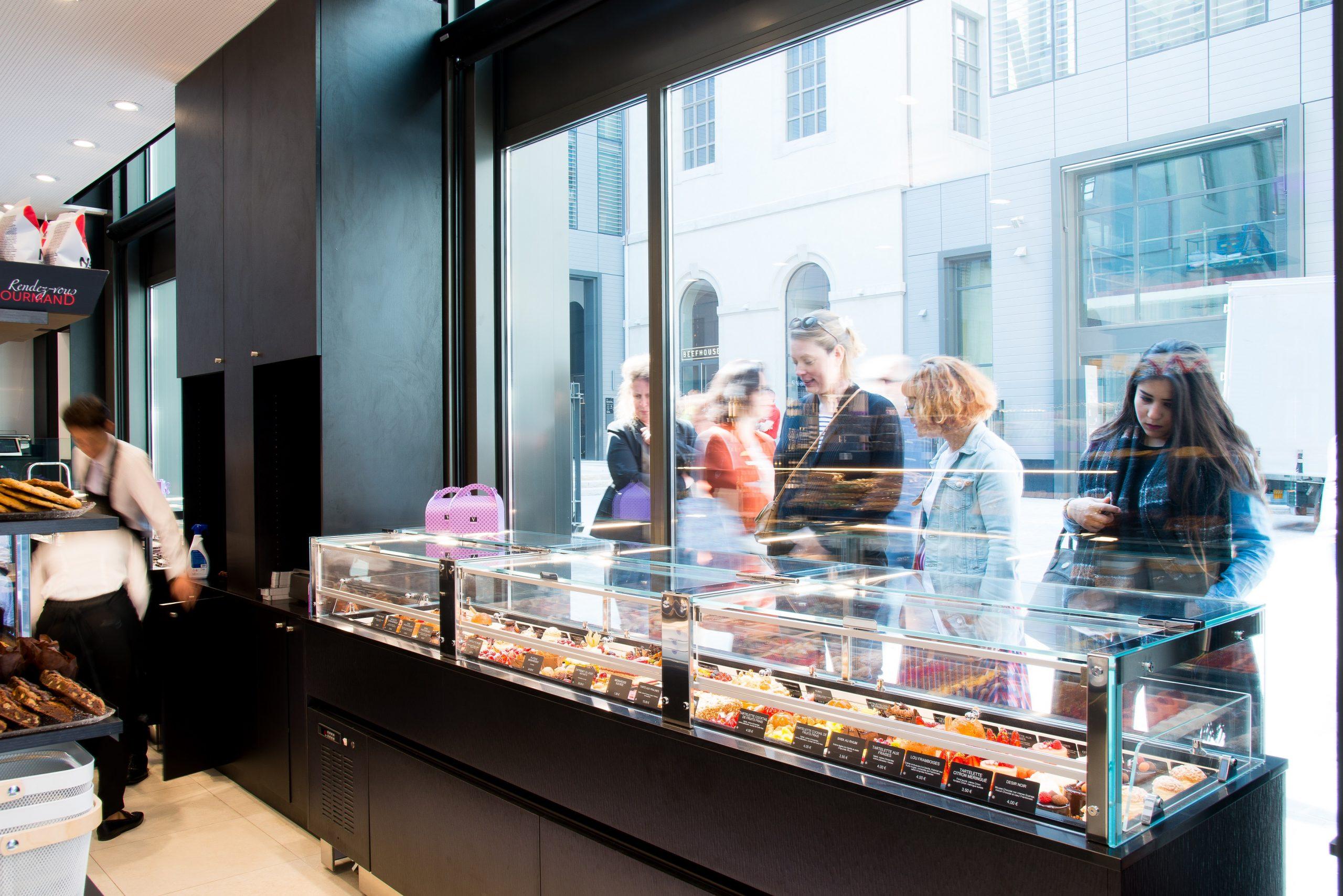 buffet vitrine Vatel Gourmet Lyon GHD