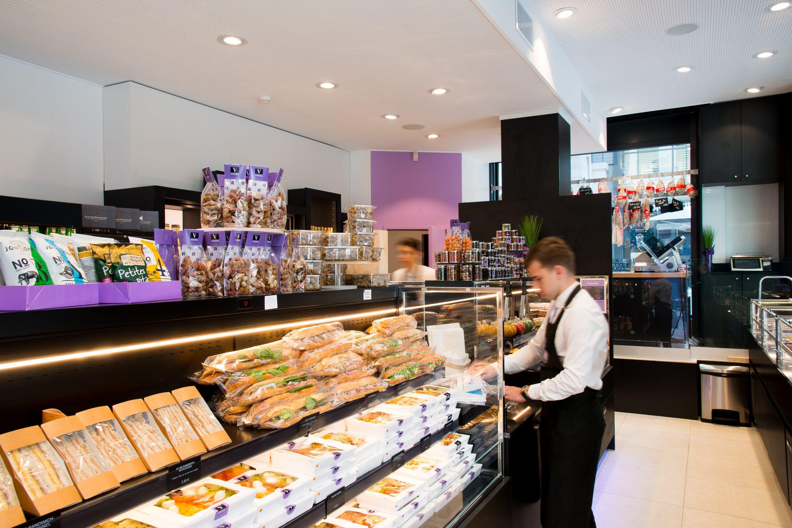 buffet plats du jour Vatel Gourmet Lyon GHD